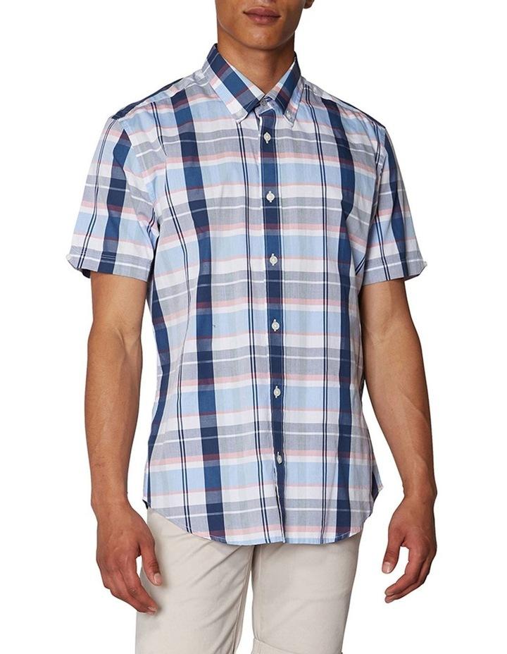 Madras Check Short Sleeve Shirt image 1