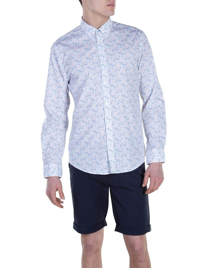Geo Print Long Sleeve Modern Shirt image 1