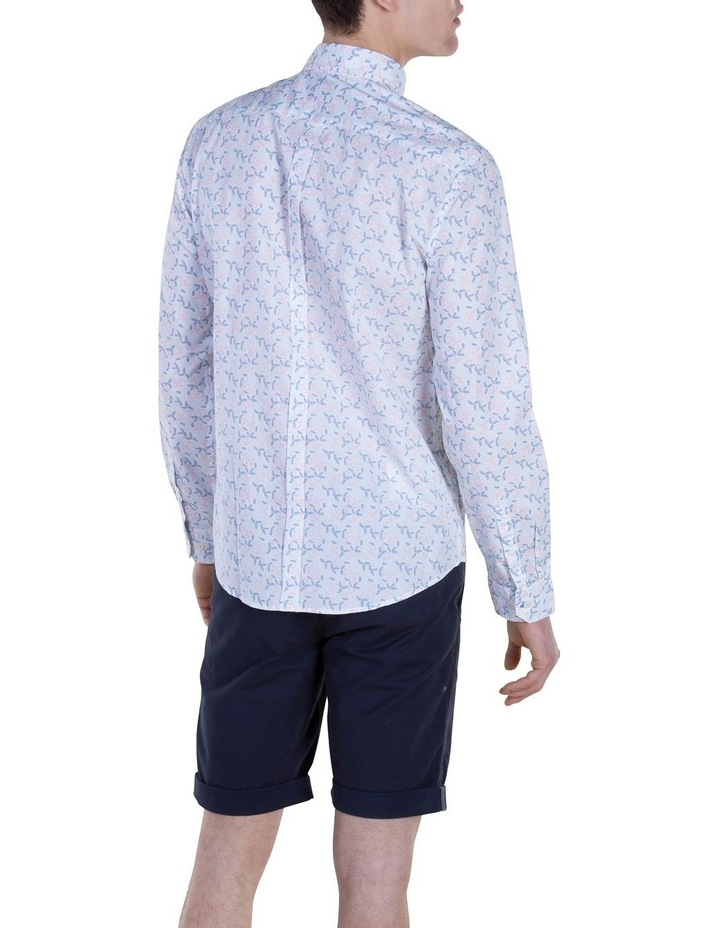 Geo Print Long Sleeve Modern Shirt image 2