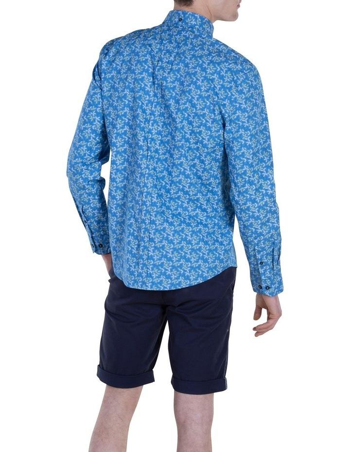 Geo Print Long Sleeve Modern Shirt image 2