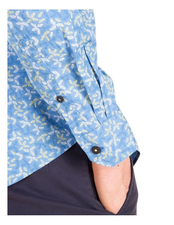Geo Print Long Sleeve Modern Shirt image 3