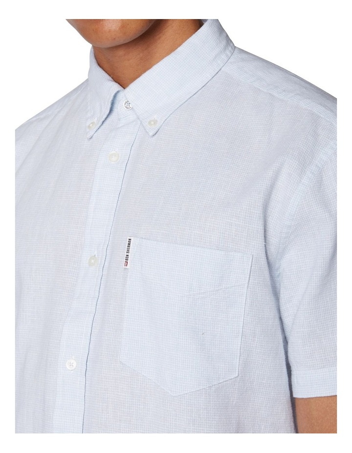 Linen Short Sleeve Shirt image 4