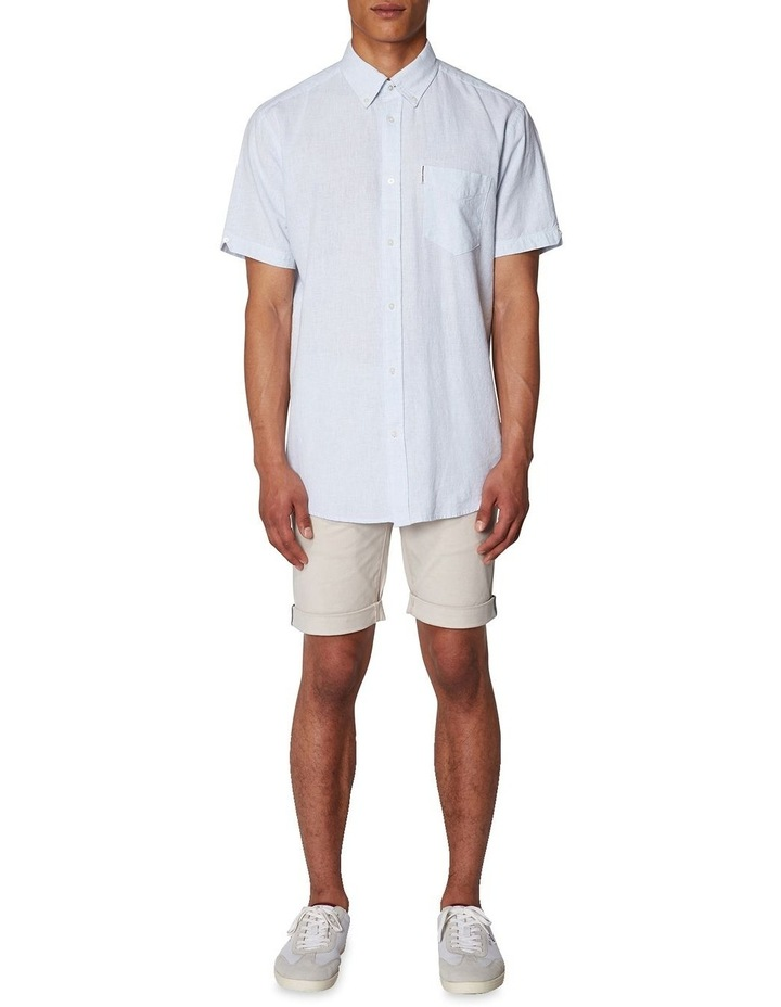 Linen Short Sleeve Shirt image 6