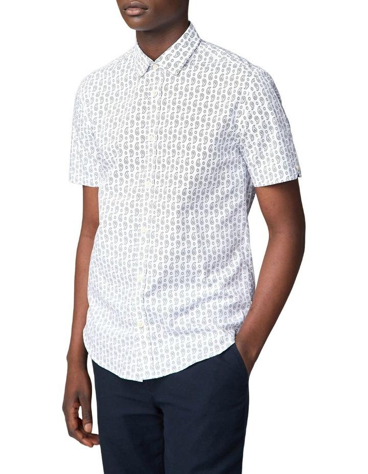 Paisley Print Short Sleeve Shirt image 1