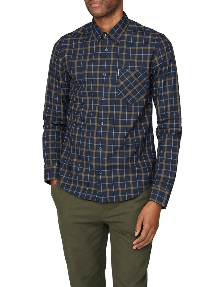 Windowpane Long Sleeve Shirt image 1