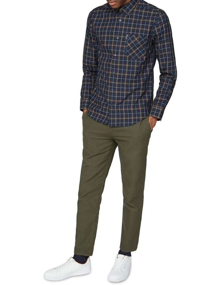 Windowpane Long Sleeve Shirt image 4