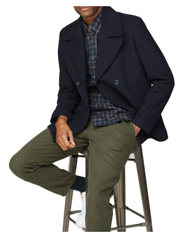 Windowpane Long Sleeve Shirt image 5