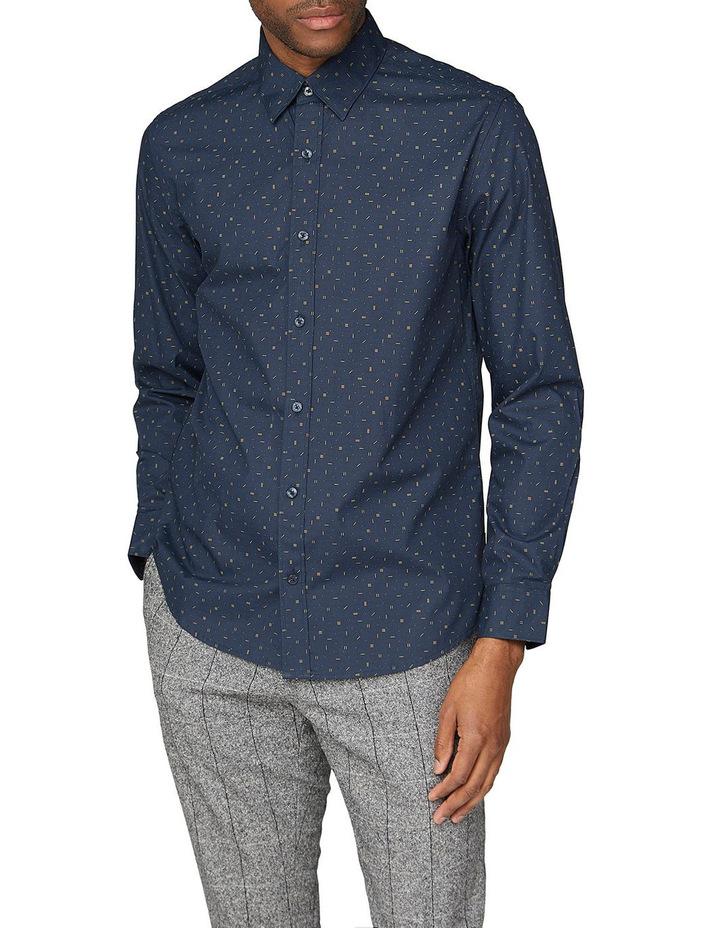 Scattered Poplin Long Sleeve Shirt image 1