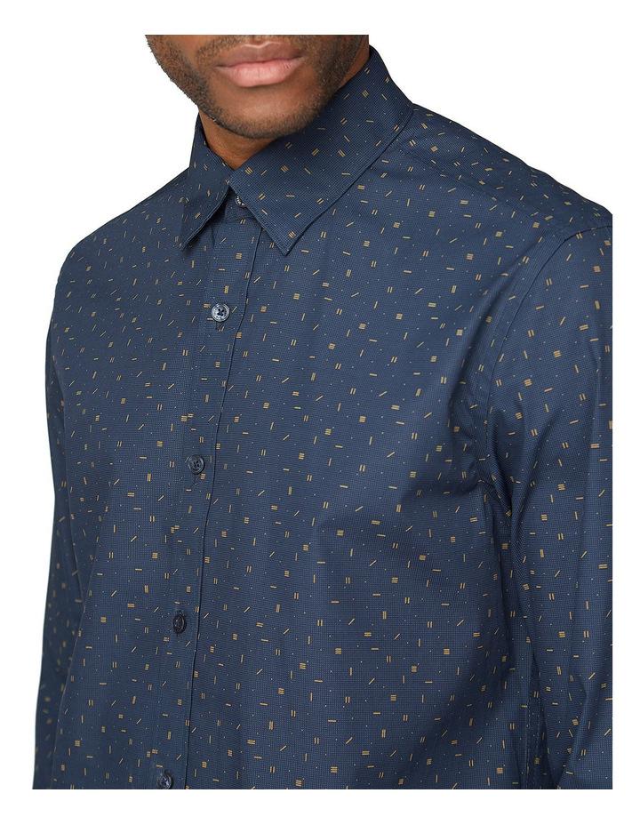 Scattered Poplin Long Sleeve Shirt image 3