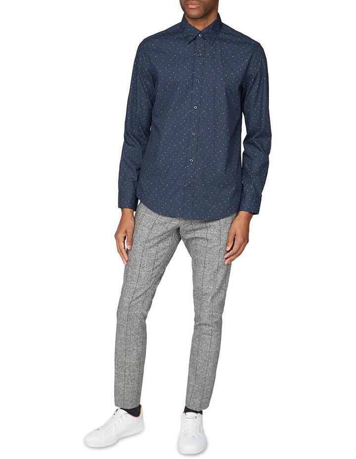 Scattered Poplin Long Sleeve Shirt image 4