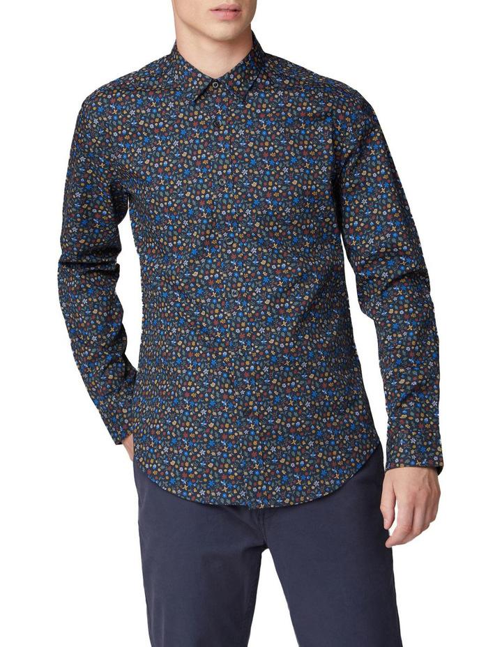 Multi Colour Floral Long Sleeve Shirt image 1