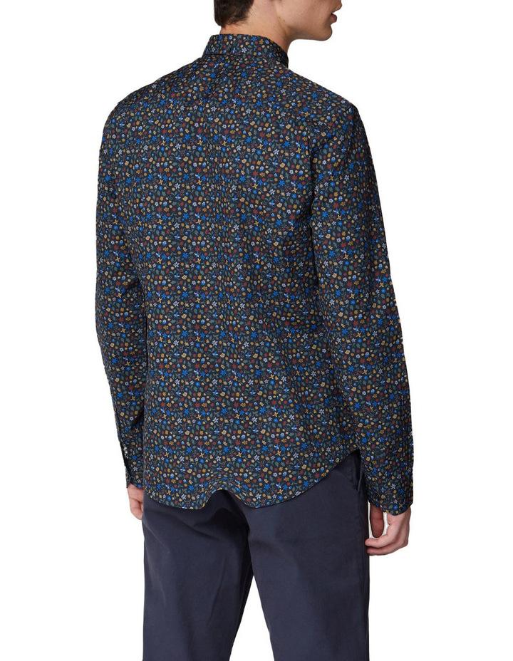 Multi Colour Floral Long Sleeve Shirt image 2