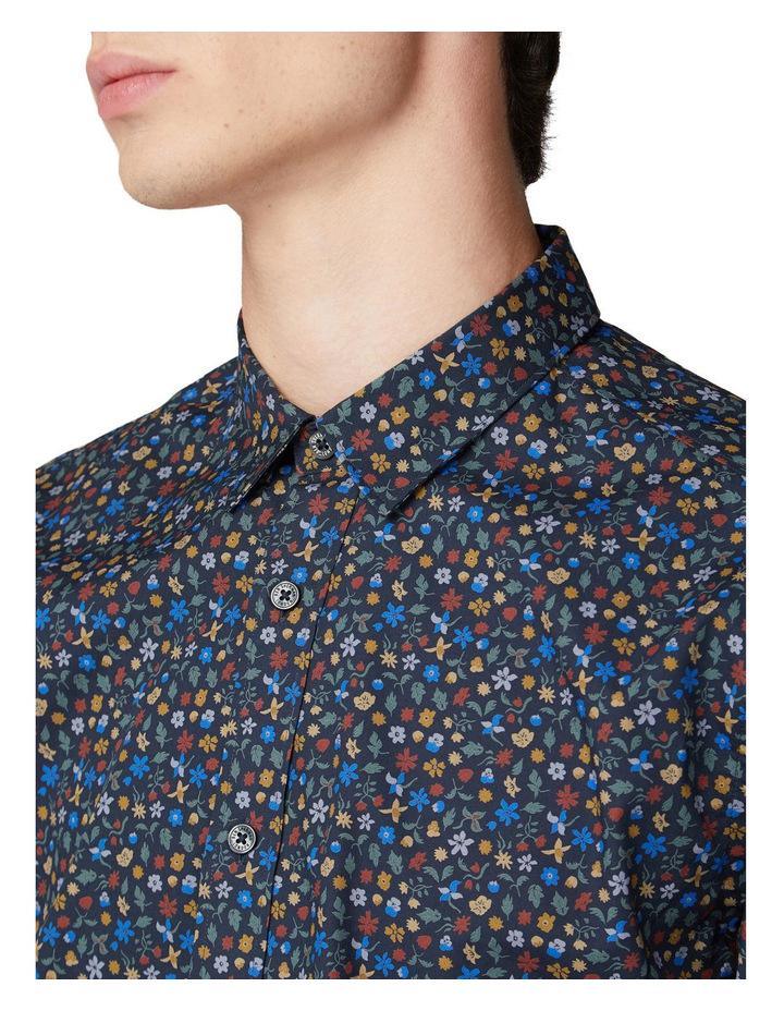 Multi Colour Floral Long Sleeve Shirt image 3
