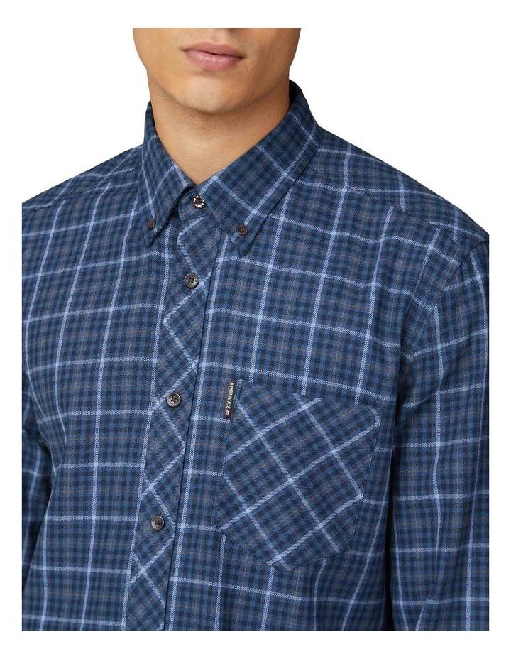 Brushed Check Long Sleeve Shirt image 3