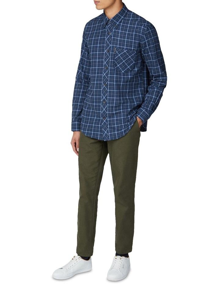 Brushed Check Long Sleeve Shirt image 4