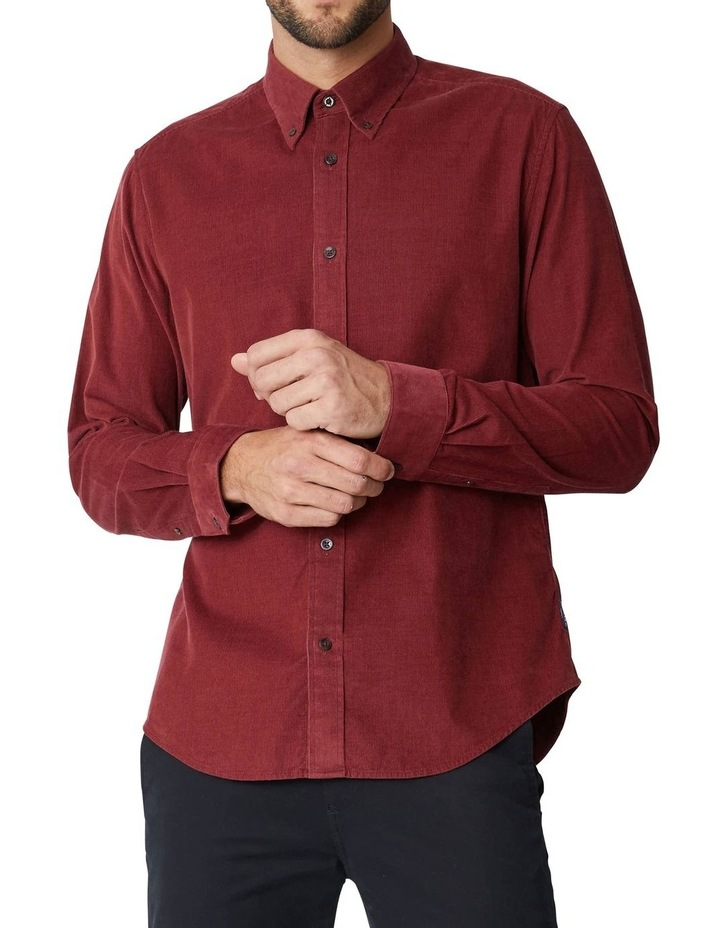 Fine Corduroy Long Sleeve Shirt image 1