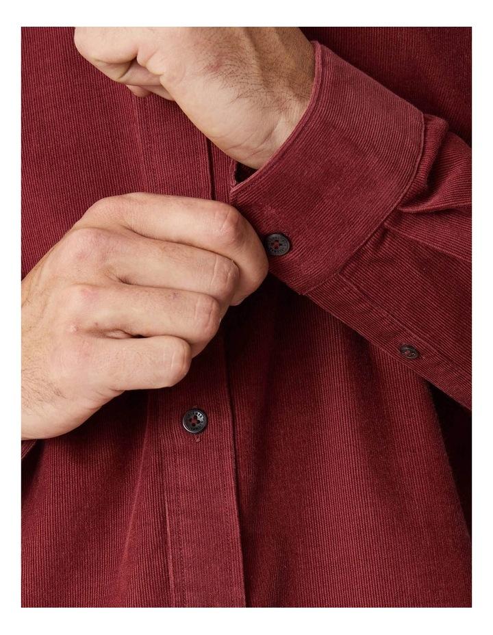 Fine Corduroy Long Sleeve Shirt image 4