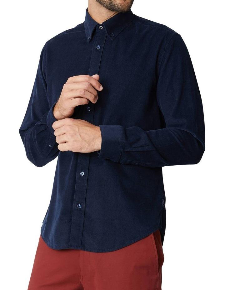 Fine Corduroy Long Sleeve Shirt image 3