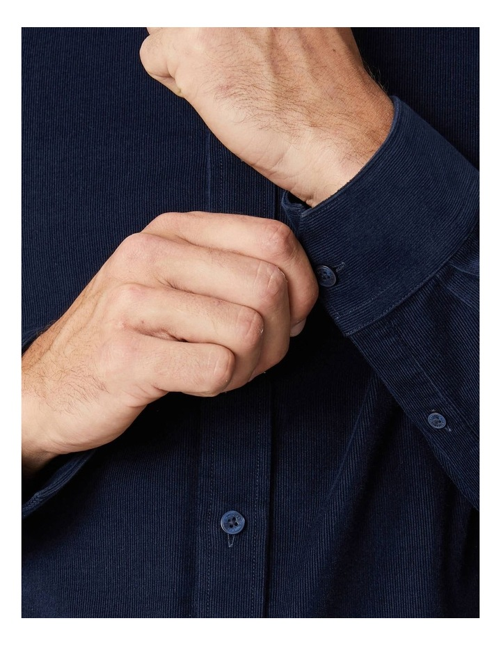 Fine Corduroy Long Sleeve Shirt image 5
