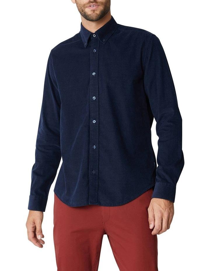 Fine Corduroy Long Sleeve Shirt image 6