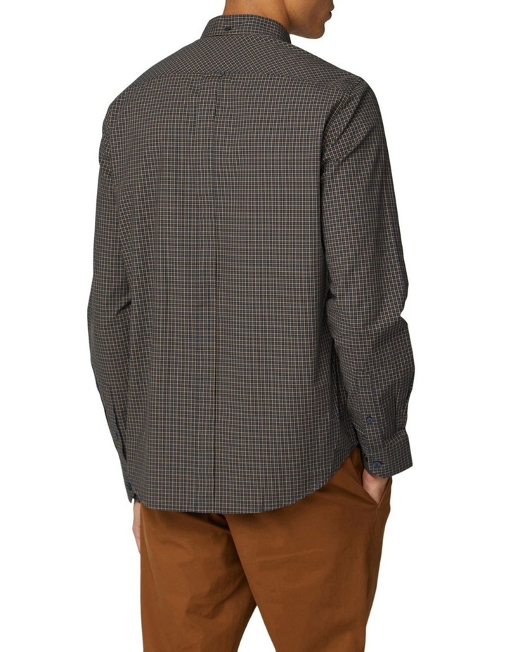 Mini House Gingham Long Sleeve Shirt image 2