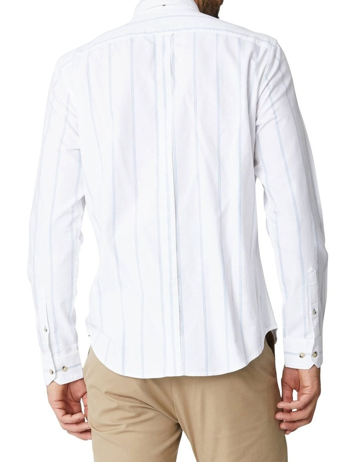 Twin Stripe Oxford Long Sleeve Shirt image 2