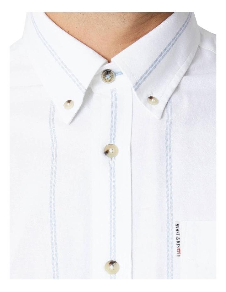Twin Stripe Oxford Long Sleeve Shirt image 5