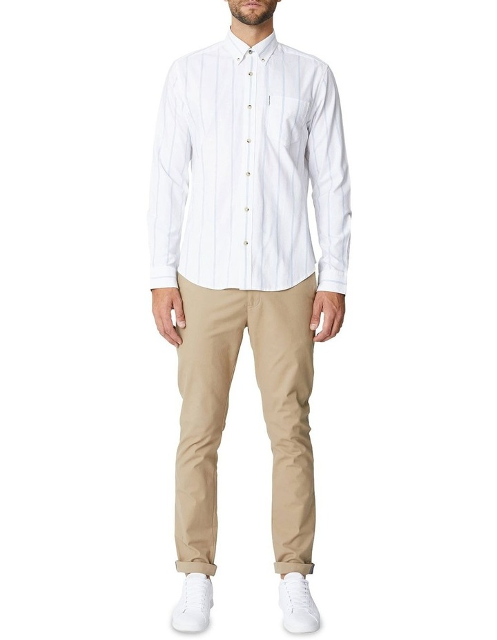 Twin Stripe Oxford Long Sleeve Shirt image 7
