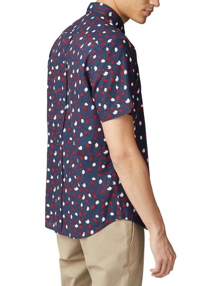 Handpainted Print Short Sleeve Shirt image 2