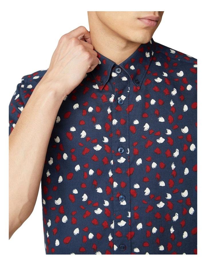 Handpainted Print Short Sleeve Shirt image 3
