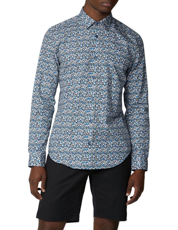 Long Sleeve Multi Colour Floral Shirt image 1