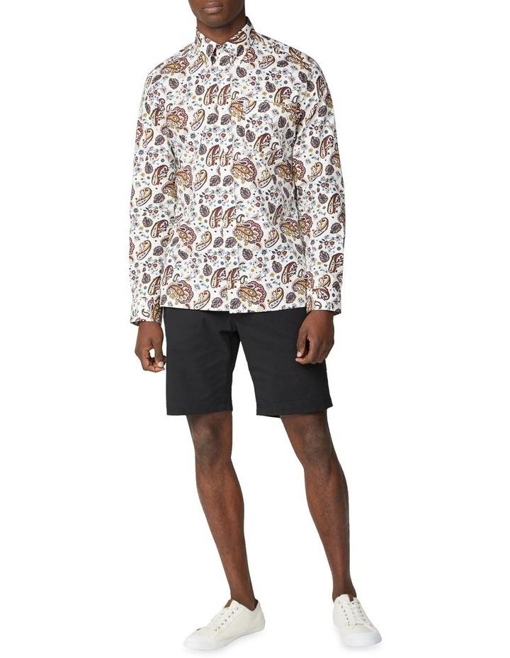 Long Sleeve Multi Col Paisley Shirt image 2