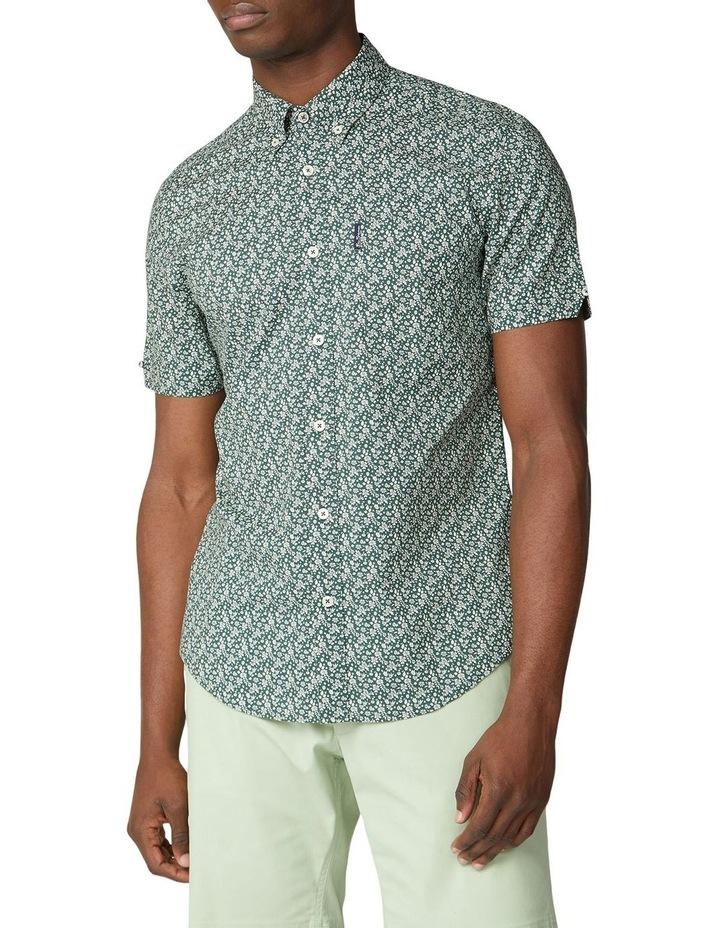 Short Sleeve Floral Print Shirt image 1