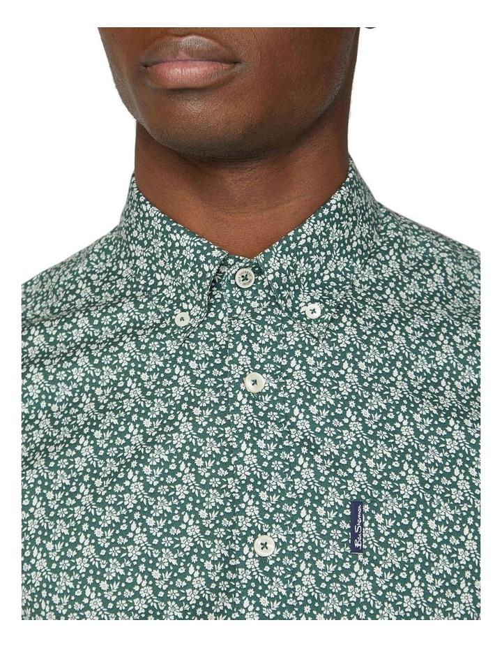Short Sleeve Floral Print Shirt image 3