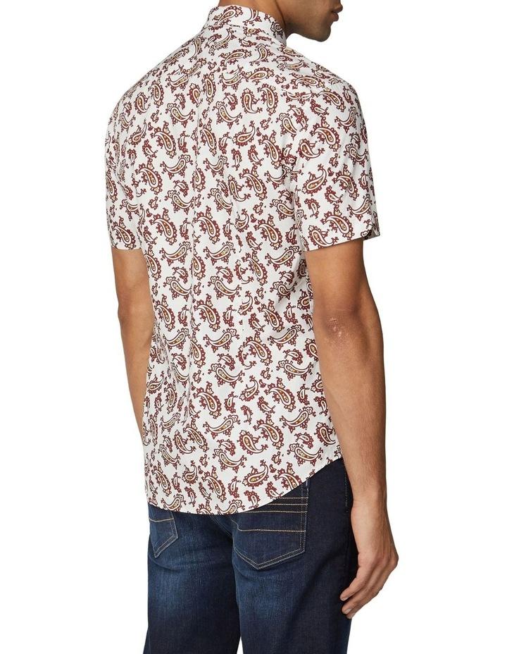 Short Sleeve Paisley Shirt image 1
