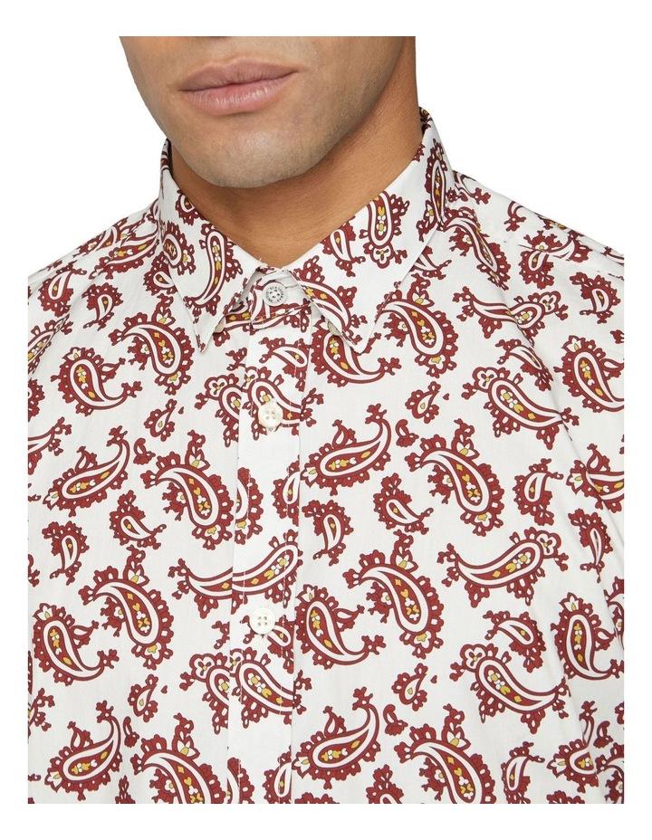Short Sleeve Paisley Shirt image 2