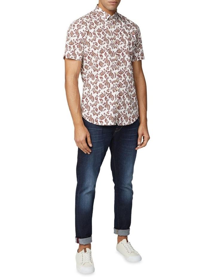 Short Sleeve Paisley Shirt image 3