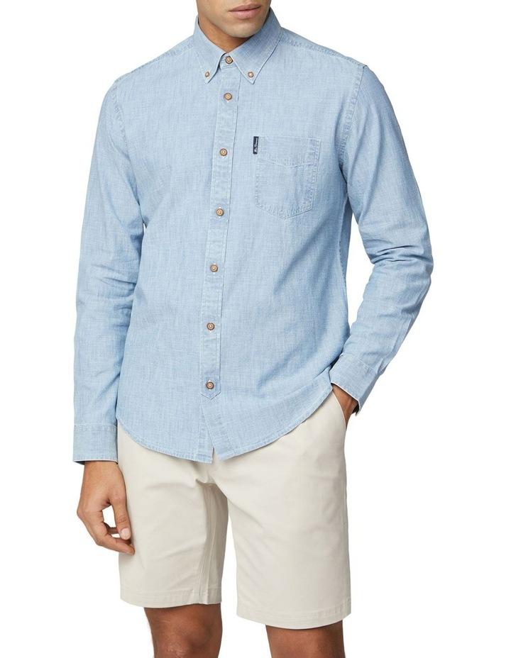 Long Sleeve Chambray Shirt image 1