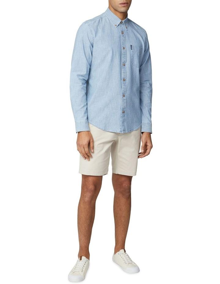 Long Sleeve Chambray Shirt image 4