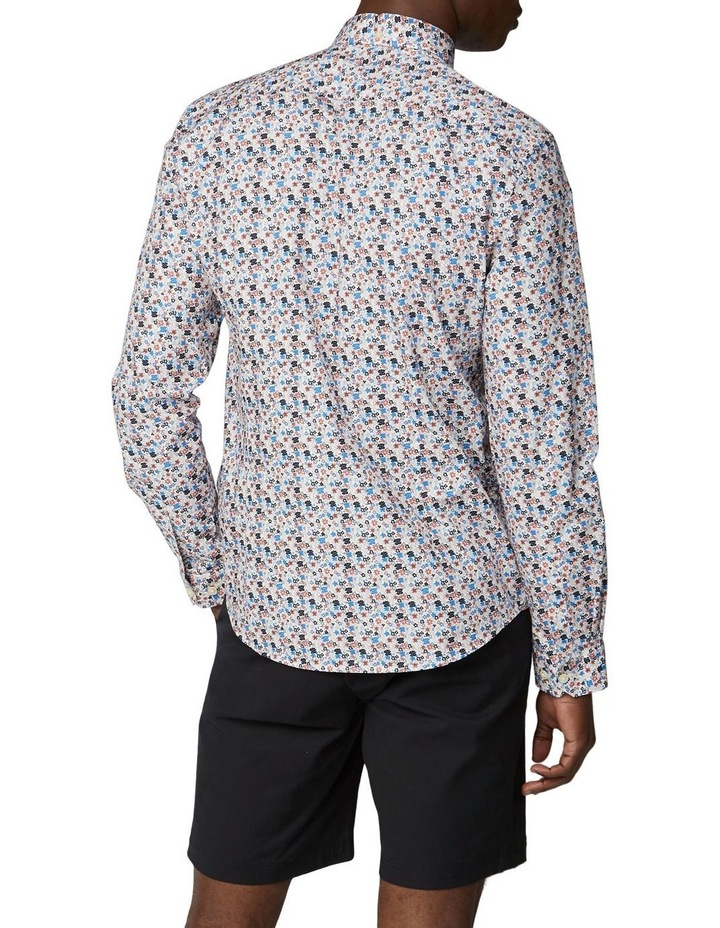 Long Sleeve Multi Col Floral Shirt image 2