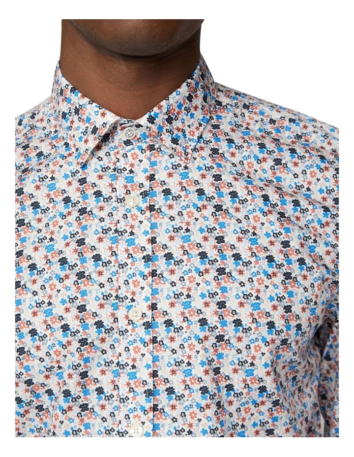 Long Sleeve Multi Col Floral Shirt image 3