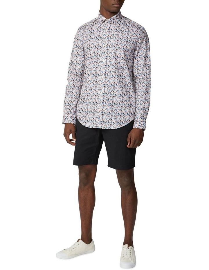 Long Sleeve Multi Col Floral Shirt image 4