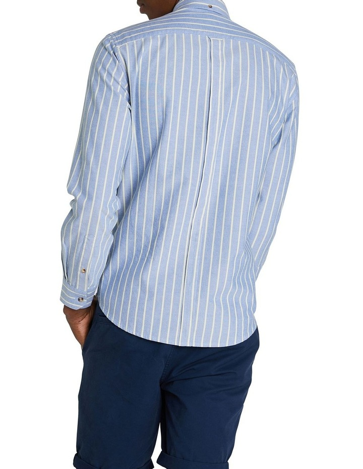 Long Sleeve Stripe Oxford Mod Shirt image 3