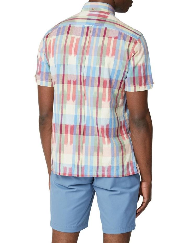 Short Sleeve Ikat Check Shirt image 2