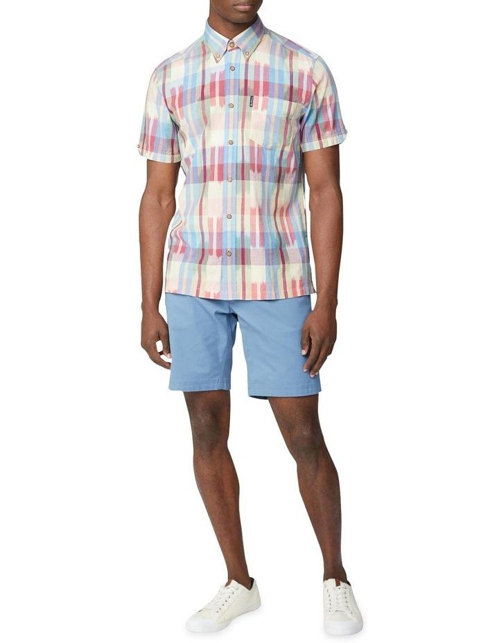 Short Sleeve Ikat Check Shirt image 4