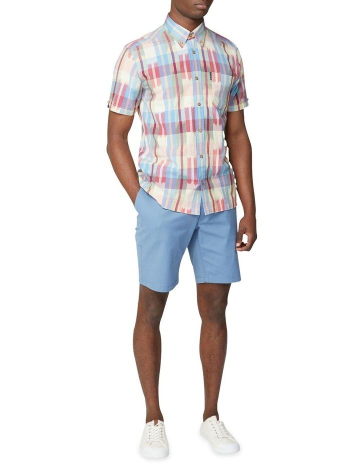 Short Sleeve Ikat Check Shirt image 5