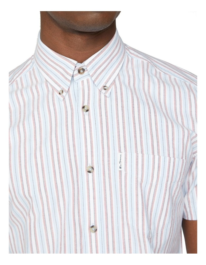 Short Sleeve Yarn Dyed Oxford Shirt image 3