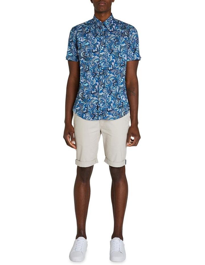 Short Sleeve Phychadelic Multi Print Shirt image 5