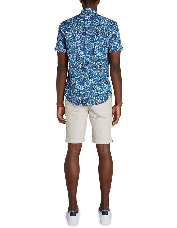Short Sleeve Phychadelic Multi Print Shirt image 6