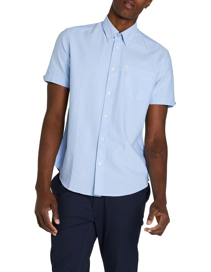 Short Sleeve Signature Oxford Shirt image 1
